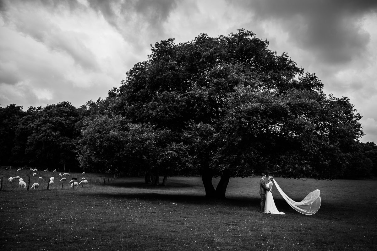 Bruidsfotograaf Brummen Bronckhorst Hoeve | Matthijs & Kim-002
