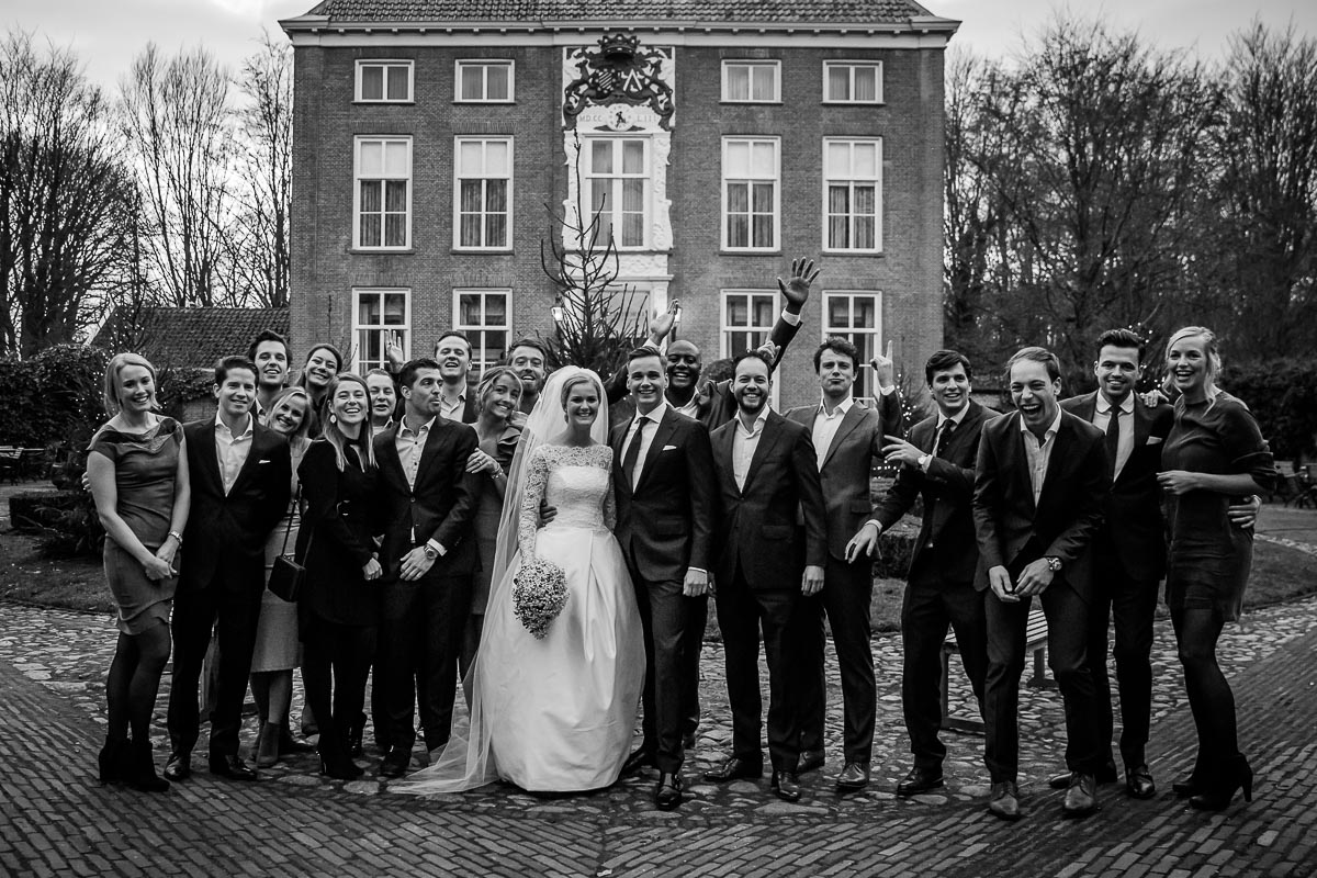 Winterbruiloft in Genemuiden en de Havixhorst | Berend Jan & Hanna-Beth062-