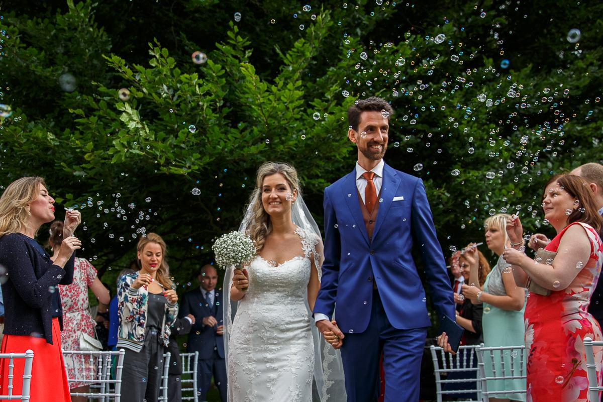 Martijn & Anne - buiten trouwen huis de Voorst Eefde