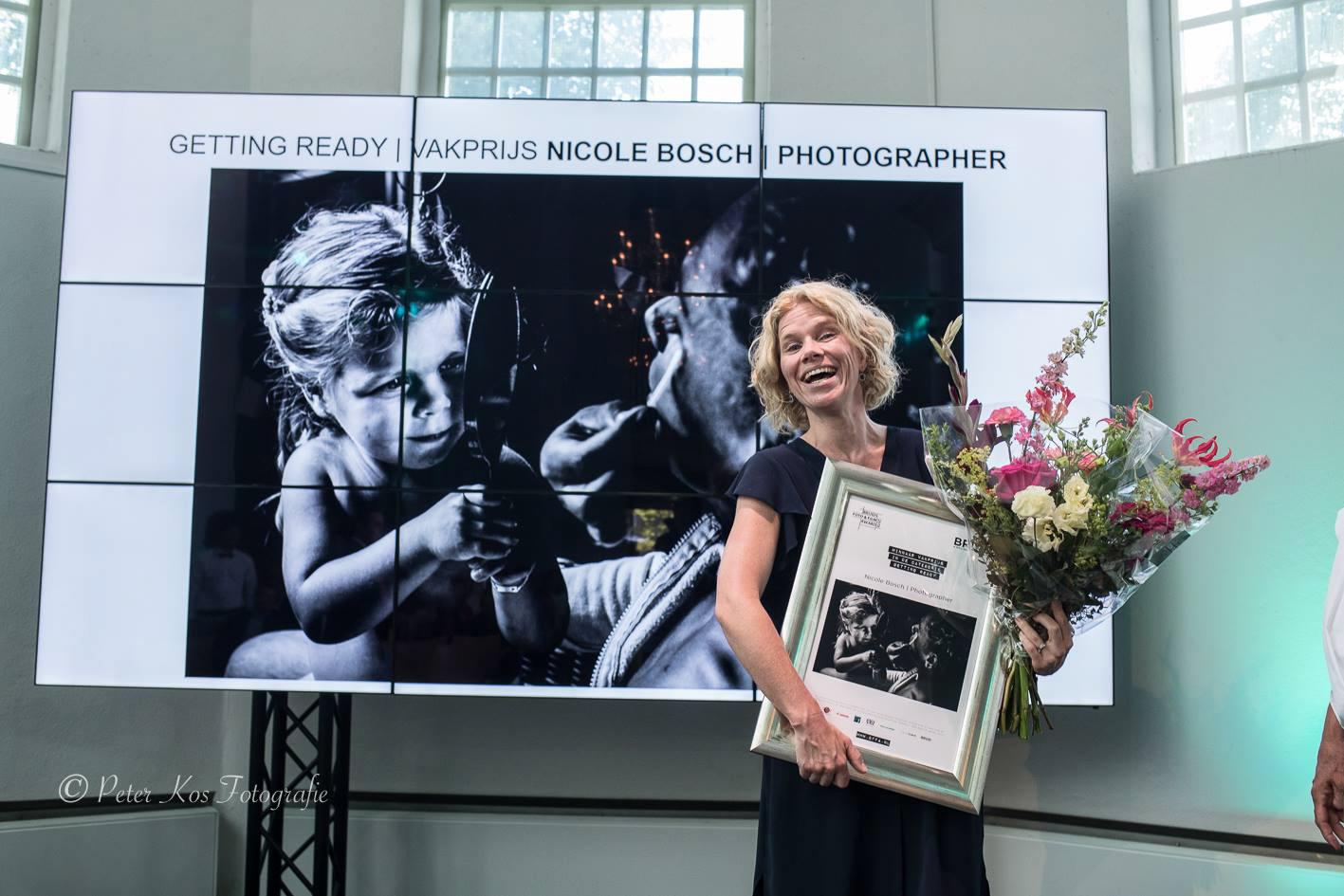 winnaar bruidsfoto Award 2018